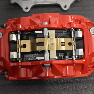 Audi RS6 RS7 Front Calipers Brembo 6pot 4G0615107D 4G0615108D Red NEW