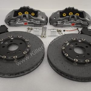 Audi Rs4 Rs5 R8 Carbon Ceramic Front Brake kit 380x38mm NEW