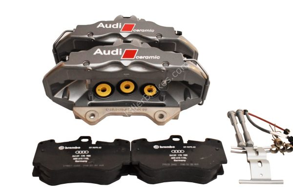 Audi A5 RS5 RS4 B7 B8 8K Ceramic Brake Calipers 6pot Brembo New