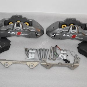 Audi A5 RS5 RS4 B8 8K Ceramic brake calipers front genuine Brembo New