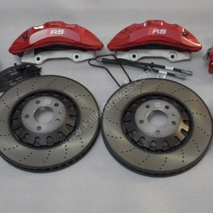 Audi Rs4 Rs5 B9 front and rear brake kit 375x36mm front 330x22mm rear Red New