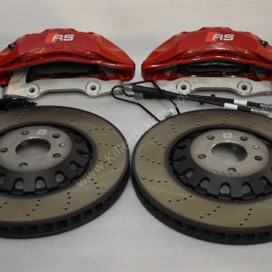 Audi A4 S4 A5 S5 Rs4 Rs5 B9 front and rear brake kit 375x36mm Red New