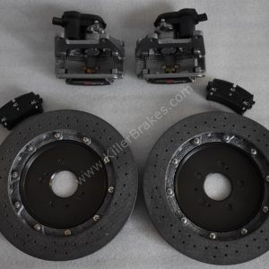 Audi Rs6 Rear Carbon Ceramic Brake kit 370x30mm New- 25