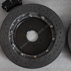 Audi Rs6 Rear Carbon Ceramic Brake kit 370x30mm New- 27