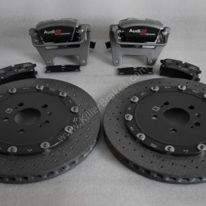 Audi Rs6 Rear Carbon Ceramic Brake kit 370x30mm New