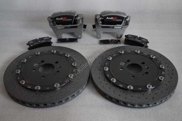 Audi Rs6 Rear Carbon Ceramic Brake kit 370x30mm New- 30