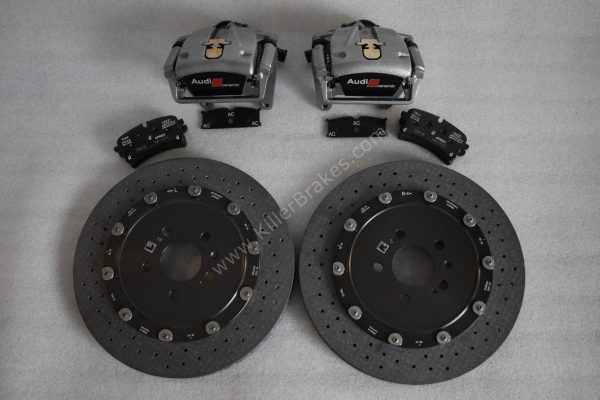 Audi Rs6 Rear Carbon Ceramic Brake kit 370x30mm New- 31