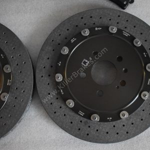 Audi Rs6 Rear Carbon Ceramic Brake kit 370x30mm New- 33