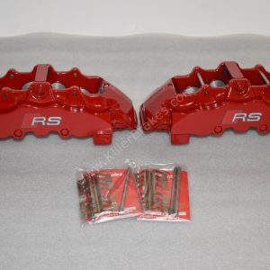 Brembo 8Pot Calipers 20.7675.02 Brembo pads Red NEW- 18