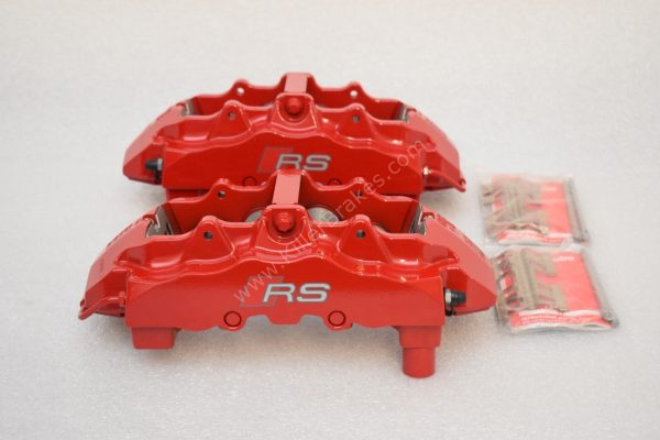 Brembo 8Pot Calipers 20.7675.02 Red NEW -1