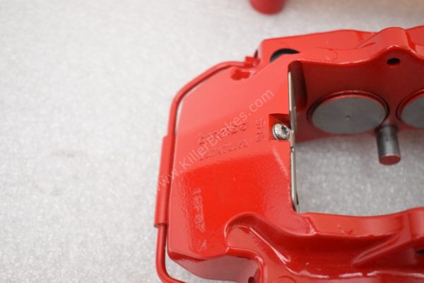Brembo 8Pot Calipers 20.7675.02 Red NEW -15