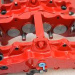 Brembo 8Pot Calipers 20.7675.02 Red NEW -18