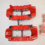 Brembo 8Pot Calipers 20.7675.02 Red NEW -20