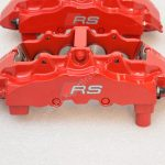 Brembo 8Pot Calipers 20.7675.02 Red NEW -3