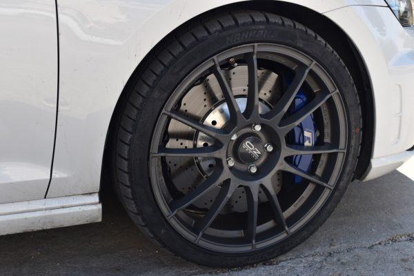 USED Big Brake Kit Brembo 6pot Brake kit 390mm wave Brake discs mk5/6/7 R R20 S3 8P 8V TTRS