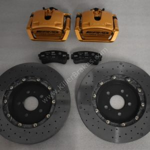 MERCEDES-BENZ W222 W217 S63 S65 AMG Rear Ceramic Brake kit