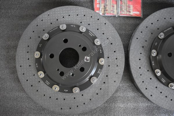 Audi Rs3 8p 8v Ceramic Brake kit Brembo 8Pot 370x34mm NEW