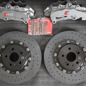 Audi Rs3 8p 8v Ceramic Brake kit Brembo 8Pot 370x34mm NEW-22