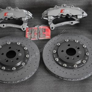 Audi Rs3 8p 8v Ceramic Brake kit Brembo 8Pot 370x34mm NEW-24