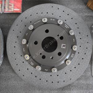 Audi Rs3 8p 8v Ceramic Brake kit Brembo 8Pot 370x34mm NEW-9