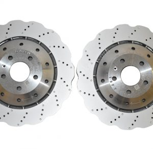 Front Audi Rs4 Rs5 B8 R8 Wave Brake Discs 4S0615301B 365x34mm NEW