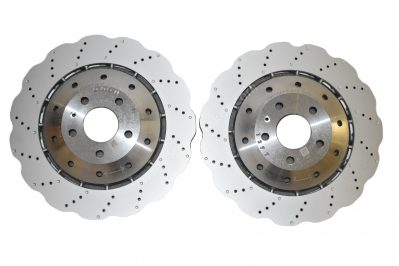 Front Audi Rs4 Rs5 B8 R8 Wave Brake Discs 4S0615301B 365x34mm NEW