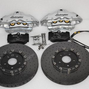 Lamborghini Lp640 Carbon Ceramic Front Brakes 380x38mm Golf 7R S3 8v TTRS Used