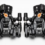 Rear Golf 7R Audi S3 8v Calipers Upgrade for Gti A3 Black NEW 10