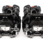 Rear Golf 7R Audi S3 8v Calipers Upgrade for Gti A3 Black NEW 12