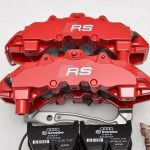 Audi TTRS 8S RS3 8v Brembo 8Pot Calipers 20.7675.02 with brackets and pads NEW Red- 10
