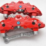 Audi TTRS 8S RS3 8v Brembo 8Pot Calipers 20.7675.02 with brackets and pads NEW Red- 9