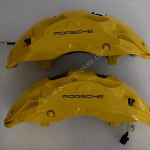Porsche Cayenne 9Y0 2018 Front Ceramic 10pot Ceramic Calipers with pads