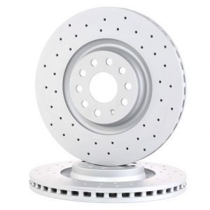 ZIMMERMANN 600.3243.52 Drilled 340x30mm brake discs