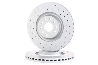 ZIMMERMANN 600.3243.52 Drilled 340x30mm brake discs
