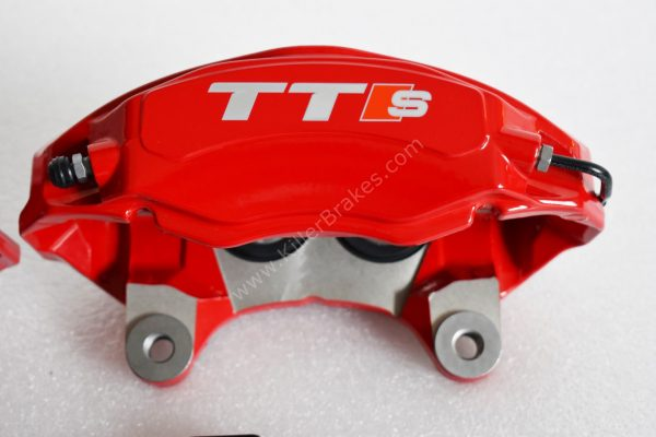 Audi TTS 2018 4Pot Calipers brake upgrade on Golf 7 R Audi S3 8v Audi TT NEW Red