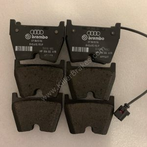 GENUINE 8pot Brembo calipers Audi RS3TTRSRsq3 Front Brake Pads 8V0698151K-15
