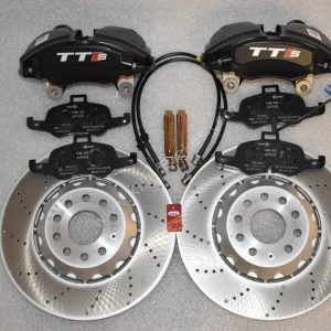 Audi TTS 8S 4Pot Brake kit Upgrade ClubSport brake discs NEW Black
