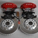 Audi TTS 8S 4Pot Brake kit Upgrade ClubSport brake discs NEW Red -11