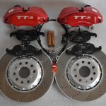 Audi TTS 8S 4Pot Brake kit Upgrade ClubSport brake discs NEW Red -13
