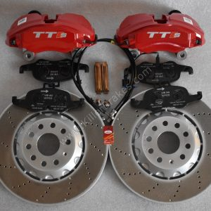 Audi TTS 8S 4Pot Brake kit Upgrade ClubSport brake discs NEW Red