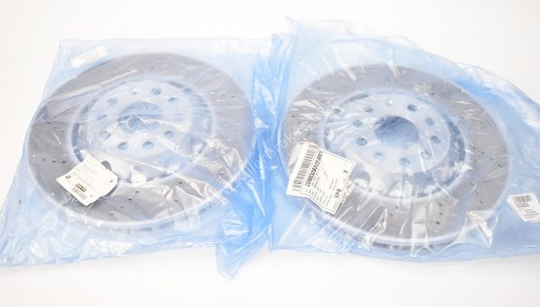 Genuine MQB 340x30mm Clubsport S Front Brake Discs (Pair) (5Q0615301C)
