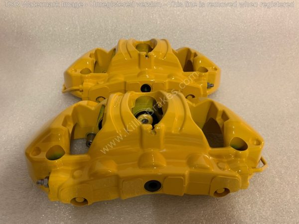 Porsche 991 GT3 GT3RS GT2RS 918 Ceramic Calipers Front Brembo NEW-9