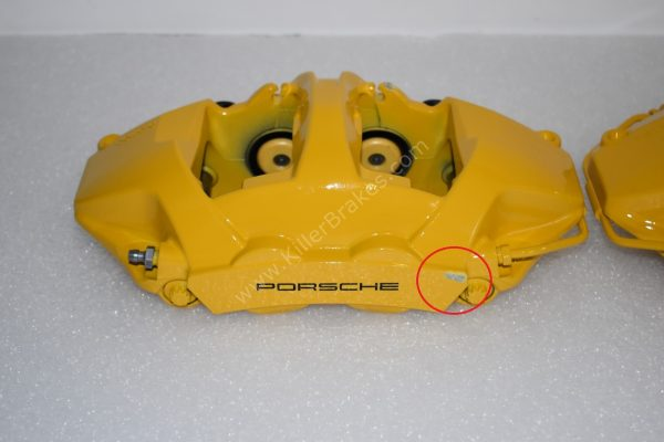 Porsche 991 GT3 GT3RS GT2RS 918 Ceramic Calipers Rear Brembo NEW-17