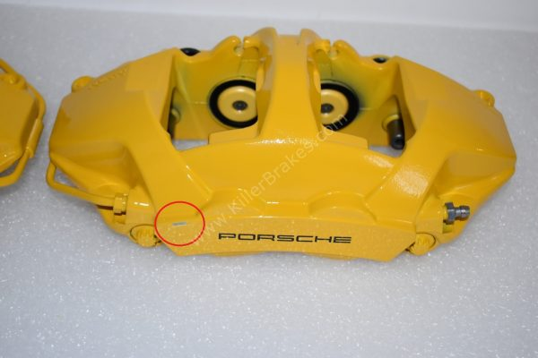 Porsche 991 GT3 GT3RS GT2RS 918 Ceramic Calipers Rear Brembo NEW-21