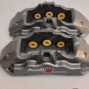 Audi R8 Ceramic Brake Calipers 6pot Brembo 420615107c 420615108C New