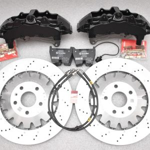 Audi TTRS 8S Big Brake kit Brembo 8Pot 370x34mm NEW Black MQB platform P&P install