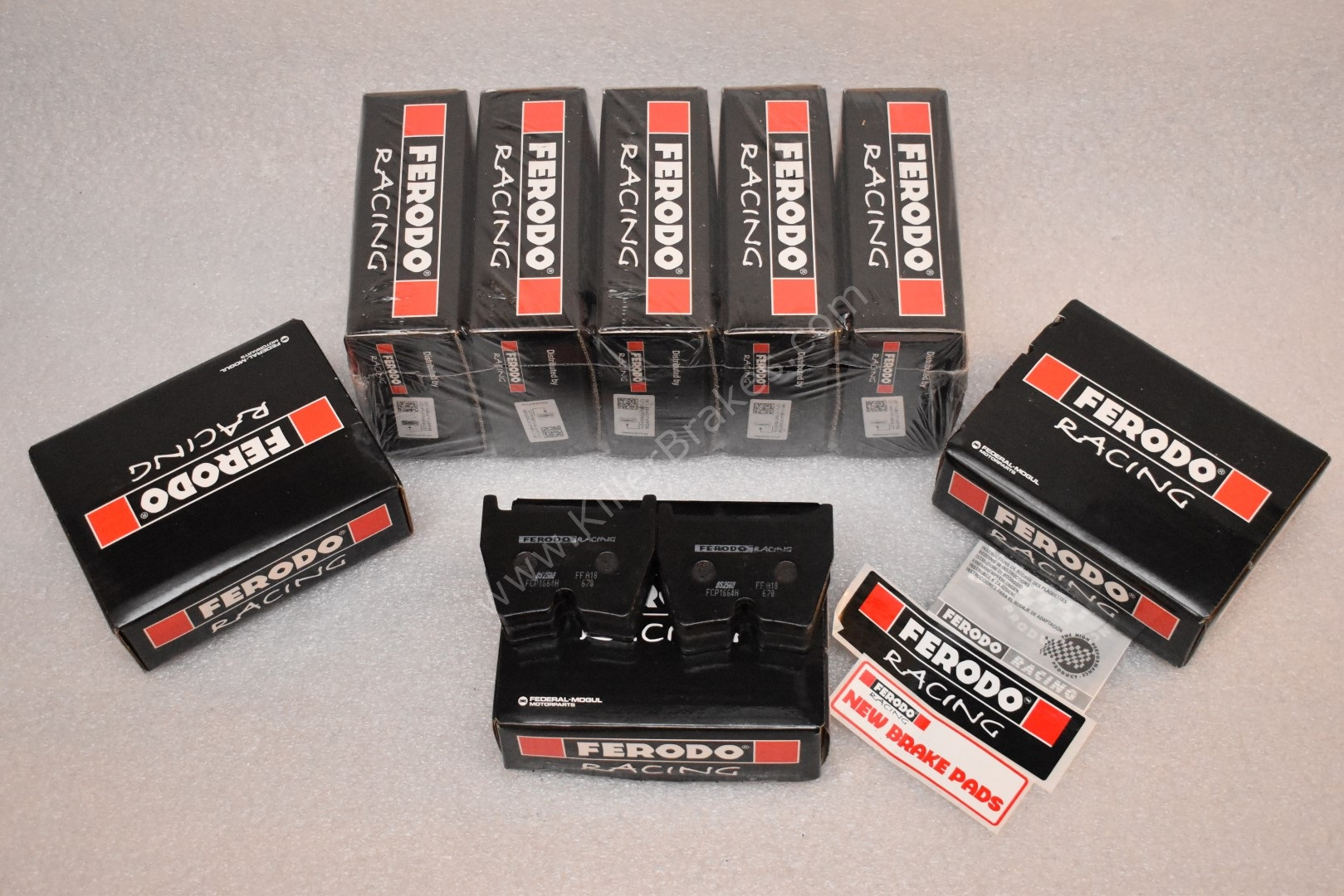 Ferodo Racing Front Brembo 8pot Brake Pads DS2500 FCP1664 New