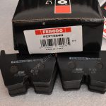 Ferodo Racing Front Brembo 8pot Brake Pads DS2500 FCP1664 New-50