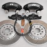 Golf 7R 7.5R 6 R20 4Pot Brake kit Upgrade ClubSport Audi TTS 8S NEW Black-11