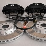 Golf 7R 7.5R 6 R20 4Pot Brake kit Upgrade ClubSport Audi TTS 8S NEW Black-14